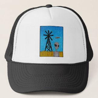 Wind Disk Trucker Hat