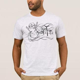 Wind Energy Ninja Shirt