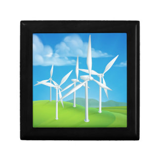 Wind Energy Power Turbines Generating Electricity Gift Box