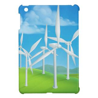 Wind Energy Power Turbines Generating Electricity iPad Mini Cover