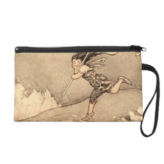 Wind Faeries Catching Wind Wristlet Purse