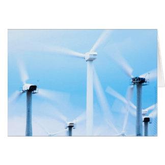 Wind farm card