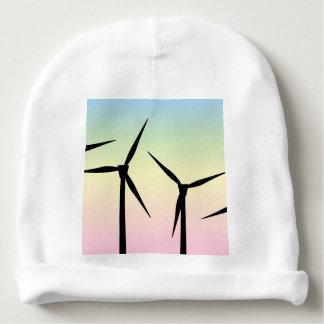 Wind Farm Morning Baby Beanie