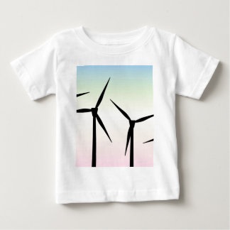 Wind Farm Morning Baby T-Shirt