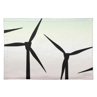 Wind Farm Morning Placemat