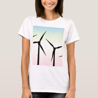 Wind Farm Morning T-Shirt