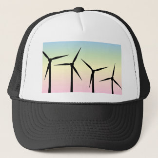 Wind Farm Morning Trucker Hat