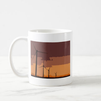 Wind farm mug