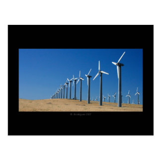 Wind Farm Postcard