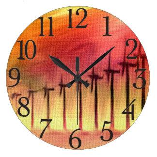 Wind Farm Wall Clocks