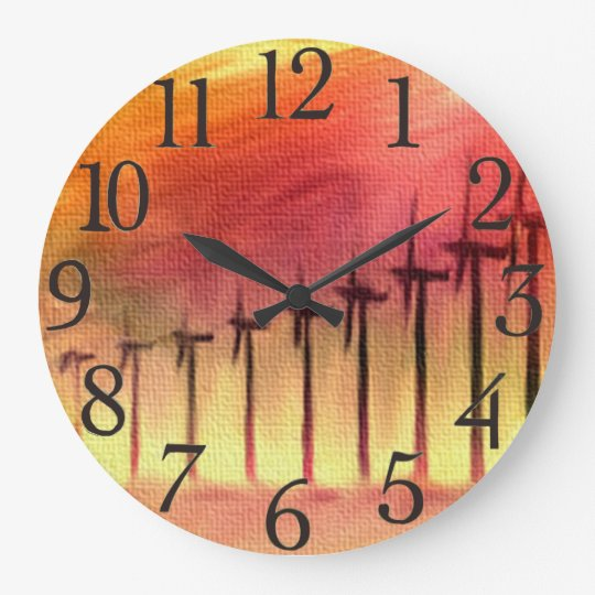 Wind Farm Wall Clocks