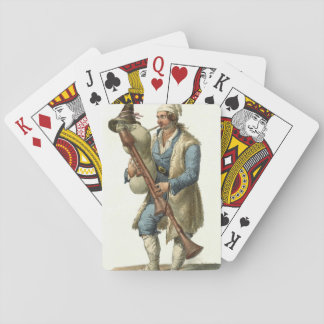 Wind Instrument 1850 Playing Cards