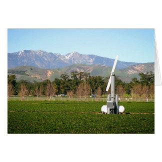 wind machine card