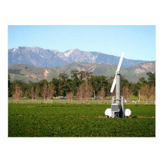 wind machine postcard