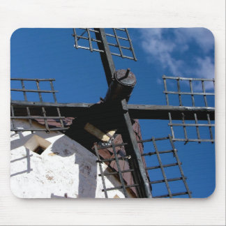 Wind mill in Consuegra, Toledo Mouse Pad