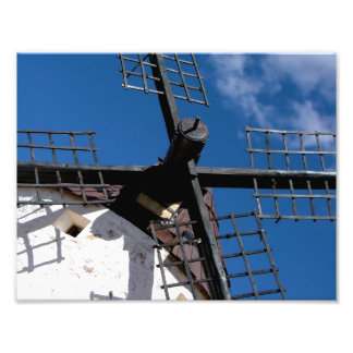 Wind mill in Consuegra, Toledo Photo Print