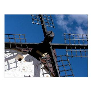 Wind mill in Consuegra, Toledo Postcard