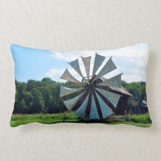wind mill sibiu romania architecture history herit lumbar pillow