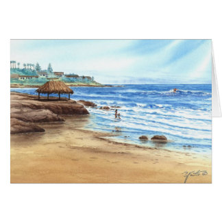 WIND N' SEA, LA JOLLA, CALIFORNIA CARD