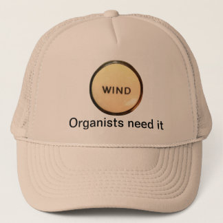 WIND - organists need it hat