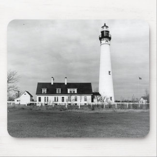 Wind Point Lighthouse Mousepads