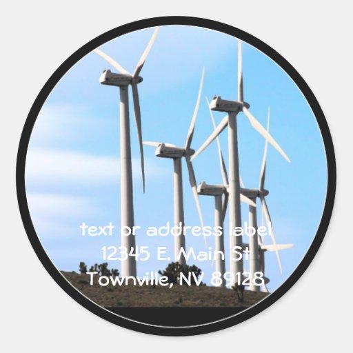 Wind Power (2) Sticker