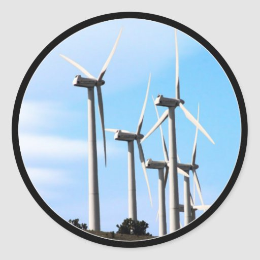 Wind Power (2) Stickers