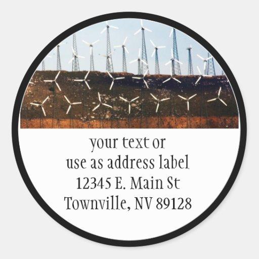 Wind Power (4) Stickers