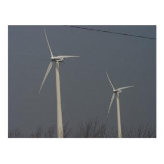 Wind Power in Minnesota and South Dakota Postcard