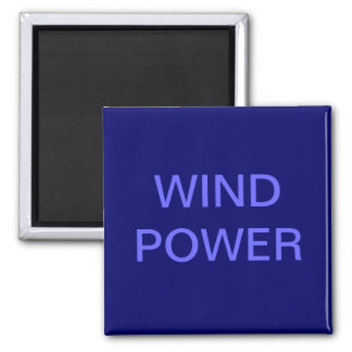 WIND POWER SQUARE MAGNET