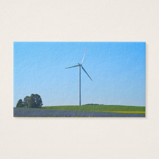 Wind Power Plant - Business Card