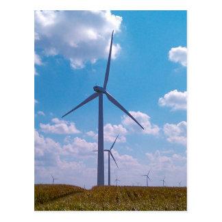 Wind Power Postcard