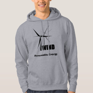 Wind Power Renewable Energy Hoody