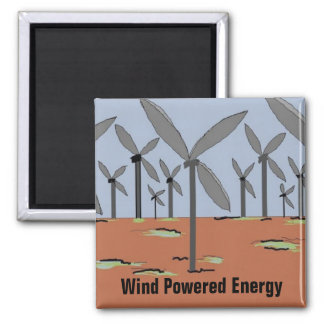 Wind Powered Windmills Magnet