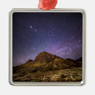 Wind River Canyon at Night Metal Ornament