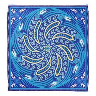 Wind Spirit Blue Bandana