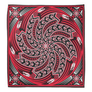 Wind Spirit Red Bandana