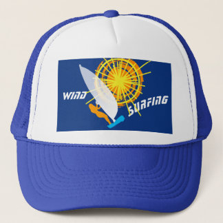 Wind Surfing custom Trucker Hat
