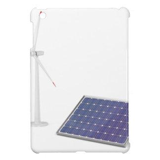 Wind turbine and solar panel iPad mini cover