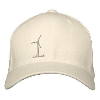 Wind Turbine Hat_8036 Embroidered Hat