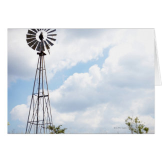 Wind Turbine in field Card