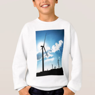 Wind turbine sweatshirt