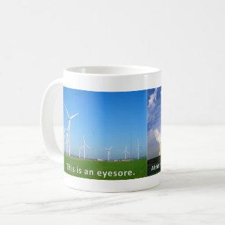Wind Turbines are an Eyesore Coffee Mug