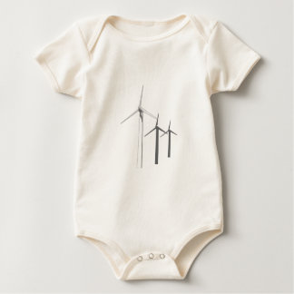 WIND TURBINES BABY BODYSUIT