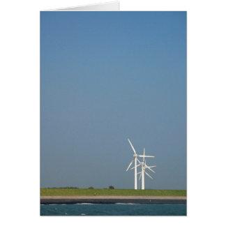 Wind Turbines Card