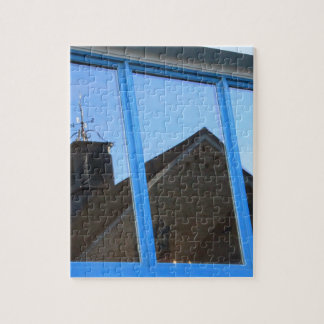 Wind Vane in the Window Jigsaw Puzzle