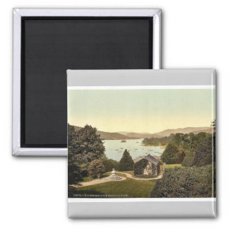 Windermere, from Belsfield Hotel, Lake District, E Magnet