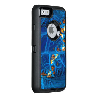 Winding Bluez Abstract OtterBox iPhone 6/6s Case