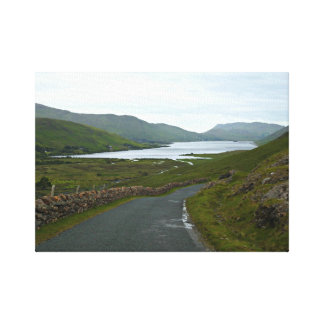 Winding roads of Ireland Canvas Print