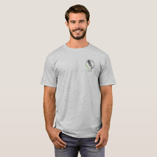 Winding Stair Farm logo with hand-drawn pea pod T-Shirt